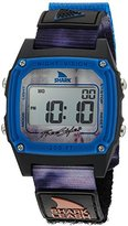 Freestyle 'Shark' Quartz Plastic and Nylon Sport Watch, Color:Grey (Model: 10027042)