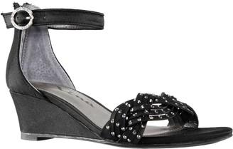 Nina Girl's Ankle Strap Wedge Sandals - Marlean