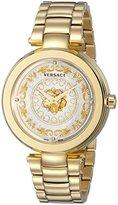 Versace Women's VQR030015 Mystique Foulard Analog Display Quartz Gold-Tone Watch