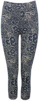 M&Co Floral print cropped leggings