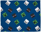 Thumbnail for your product : Minecraft Creeps Fleece Blanket