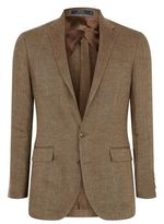 Polo Ralph Lauren Linen Diamond Check Blazer