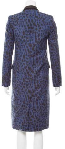 Sea Wool Chesterfield Coat