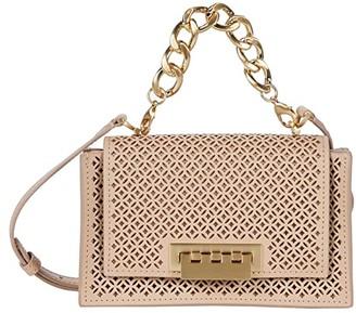 ZAC Zac Posen Earthette Chain Mini Top-Handle Crossbody Accordion - Perforation (Wheat) Handbags