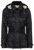 Burberry Shortfinsbridge quilted jacket