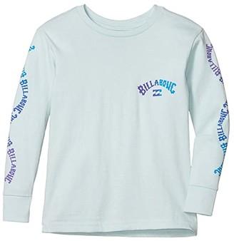 Billabong Kids Arch Long Sleeve T-Shirt (Toddler/Little Kids) (Coastal) Boy's Clothing