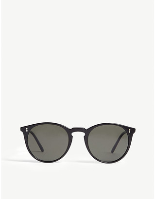 Oliver Peoples O'Malley round-frame sunglasses