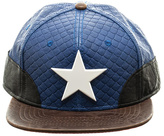 Marvel Captain America Logo Snapback Cap