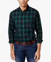 Club Room Men's Classic Fit Plaid Shirt, Only at Macy's