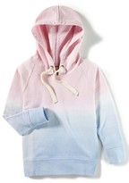 Girl's Peek Ombre Pullover Hoodie