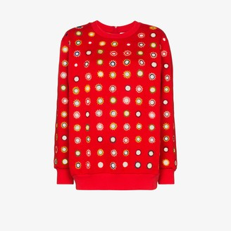 Ashish Mirror Embroidered Sweatshirt