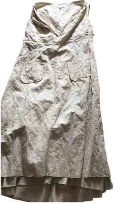 Hood by Air Ecru Viscose Dresses