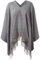 Dondup frayed poncho