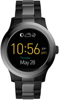 Fossil Q Men's Founder 2.0 Touchscreen Two Tone Stainless Steel Bracelet Hybrid Smart Watch 46MM FTW2117