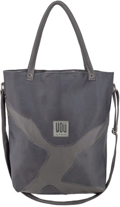 You By Tokarska Leather Handbag Goa Grey