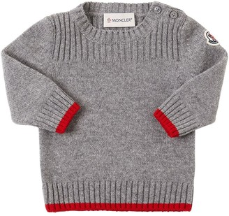 Moncler Wool & Cashmere Knit Sweater