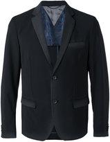 Diesel flap pockets blazer - men - Polyester/Spandex/Elastane/Acetate/Wool - 48