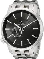Rip Curl Men's A2227-BLK Detroit Stainless Steel and Watch