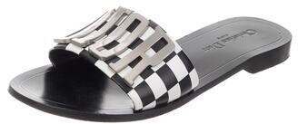 Christian Dior DiorEvolution Leather Slides Black