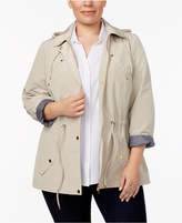 Charter Club Plus Size Utility Jacket, Only at Macy's