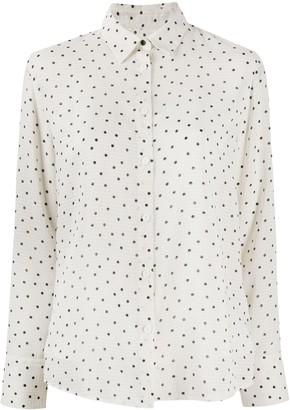 Paul Smith Polka Dot Seersucker Shirt