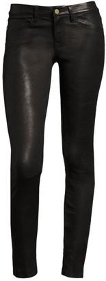 Frame Le Skinny de Jeanne Mid-Rise Leather Pants
