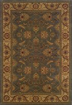 "Sphinx Oriental Weavers Allure 5'3"" x 7'6"" Machine Woven Rug in Green"