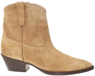 Saint Laurent Tan West 45 Bootie