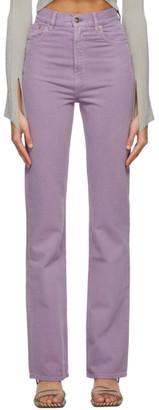 Jacquemus Purple Le de Nimes Jeans