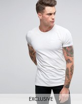 Puma Muscle Fit T-Shirt In Gray Exclusive To ASOS