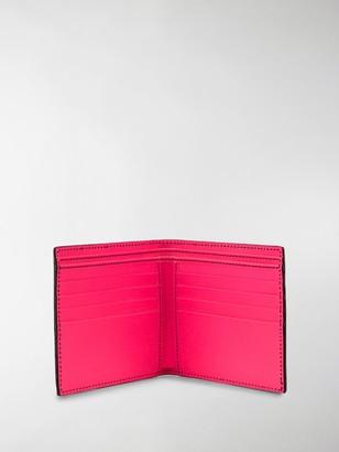 Alexander McQueen Rib-Cage Billfold Wallet