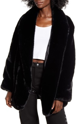 I.AM.GIA Nya Oversize Faux Fur Jacket