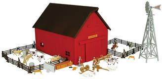 Tomy Ertl 1/64 Farm Country Western Barn Playset