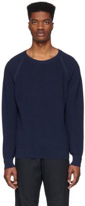 eidos Blue Waffle Sweater