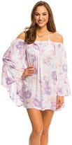 Indah Need Want Love Kamami Printed Angel Wing Cover Up Tunic 8136453