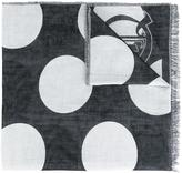 McQ by Alexander McQueen polka dot scarf - men - Cotton/Linen/Flax - One Size
