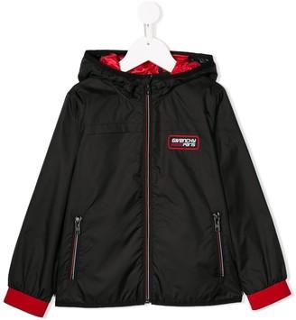 Givenchy Kids Hooded Bomber Jacket