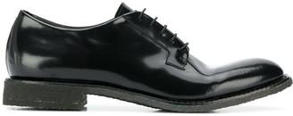 Del Carlo Patent Lace-Up Shoes