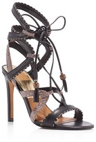 Dolce Vita Haven Lace Up High Heel Sandals