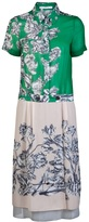 10 Crosby By Derek Lam Floral shirt dress
