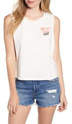 Junk Food Clothing Own Your Magic Sleeveless Cotton Tee
