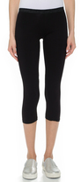 So Low SOLOW Jersey Crop Leggings