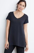 J. Jill Pure Jill Elliptical V-Neck Tee