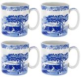 Spode Blue Italian Mugs (Set of 4)