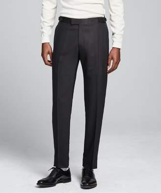 Todd Snyder Black Label Sutton Tuxedo Pant in Black Italian Wool