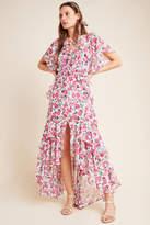 MISA Stasia Floral Maxi Dress