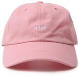 HUF Original Logo Curved Brim Hat (pink) [hufht65504-p