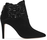 Reiss Peyton Lasercut Pointed Toe Booties