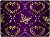 MSD Natural Rubber Placemat IMAGE ID: 8624451 Romantic purple vintage seamless background with intricate design Graphics are grouped and in several layers for easy editing The file can be scale