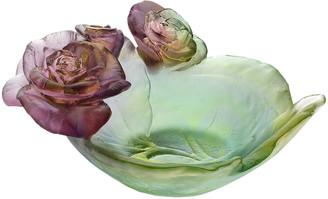 Daum Rose Passion Mini Bowl